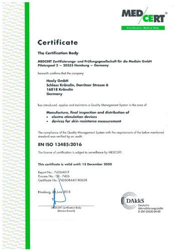 Healy CE - Certificates-Conformity-Declaration - EN